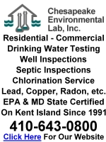 Click For Chesapeake Environmental Lab Website