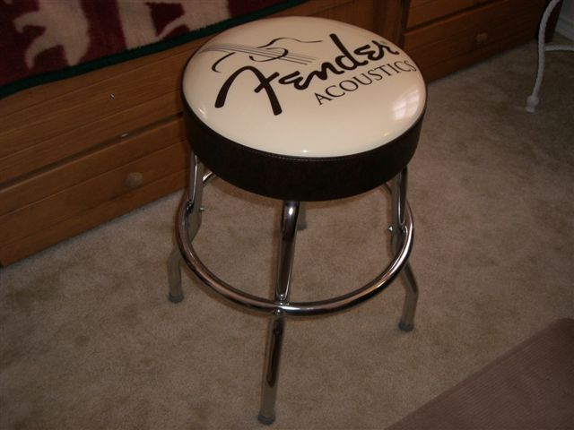 Fender Guitar Bar Stool 24 Inch Fender Acoustics