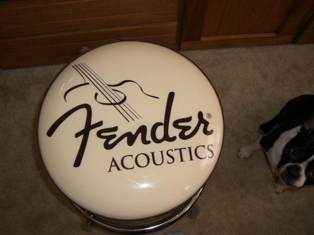 Fender Guitar Bar Stool 24 Inch Fender Acoustics